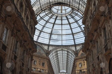 Galleria Vittorio Emanuele stock photo, Galleria Vittorio Emanuele in Milan, Italy by Ritu Jethani