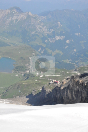 Mount Titlis in Switzerland stock photo, Mount Titlis in Switzerland, Europe by Ritu Jethani