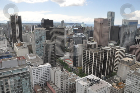 Aerial View of Vancouver stock photo, Aerial View of Vancouver in Canada by Ritu Jethani