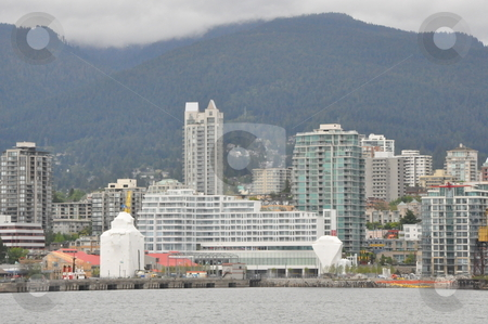 Vancouver Skyline stock photo, Vancouver Skyline in Canada by Ritu Jethani