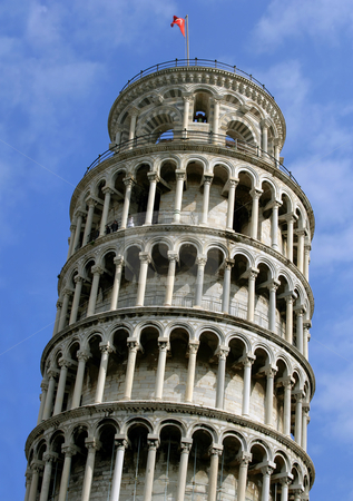 Leaning Tower stock photo, Of course it's the leaning tower of Pisa. by © Ron Sumners