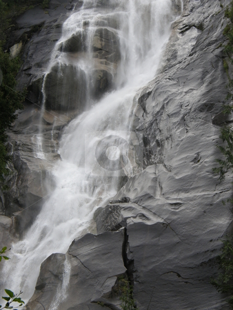 Shannon Falls in British Columbia in Canada  stock photo, Shannon Falls in Provincial Park, British Columbia in Canada   by Ritu Jethani
