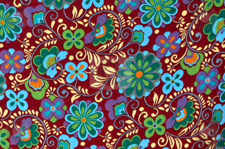 Mayan Floral Pattern Background stock photo, Mayan Floral Pattern Background by Brandon Bourdages
