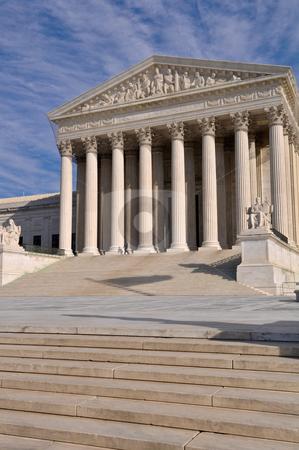 US Supreme Court Building in Washington DC stock photo, US Supreme Court Building in Washington DC by Brandon Bourdages