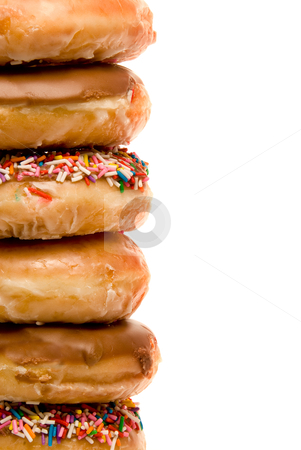 Assorted Doughnuts stock photo, An assortment of fresh and delicious doughnuts by Robert Byron