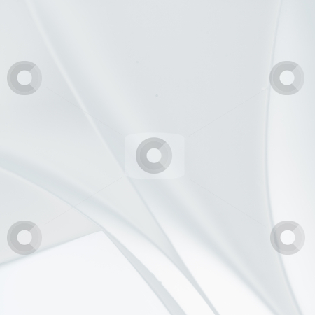 Abstract image of paper shapes stock photo, an abstract, macro, low contrast photo of curve shapes made up of white paper by dan comaniciu