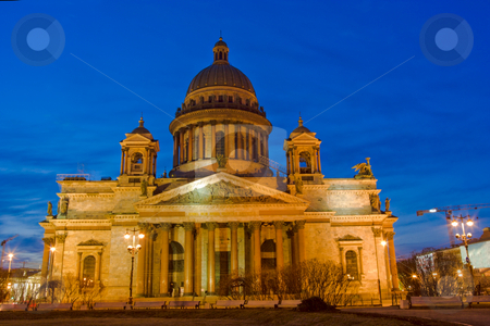 Isakievskij Cathedral stock photo, Isakievskij Cathedral. St. Petersburg. Russia by Olga Sapegina
