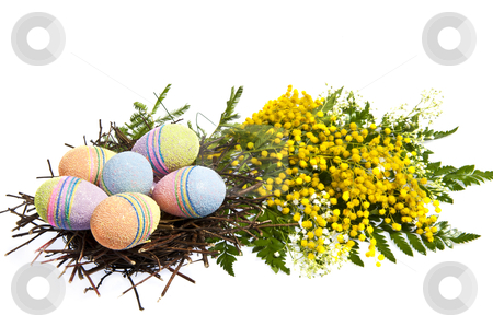 Easter stock photo, A Background for the celebration of Easter by @ Photofollies by Carla Zagni