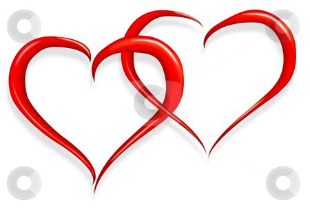 Love heart stock photo, red love heart happy valentines day by Dirk Ercken