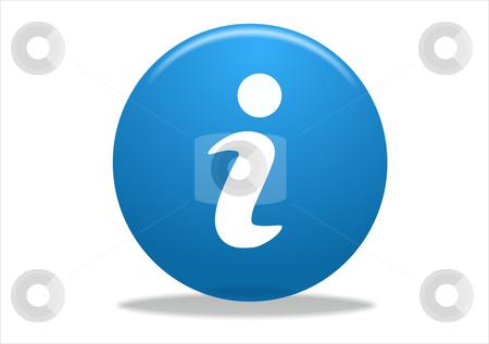 Info symbol icon stock photo, info symbol icon design - blue series by Stelian Ion