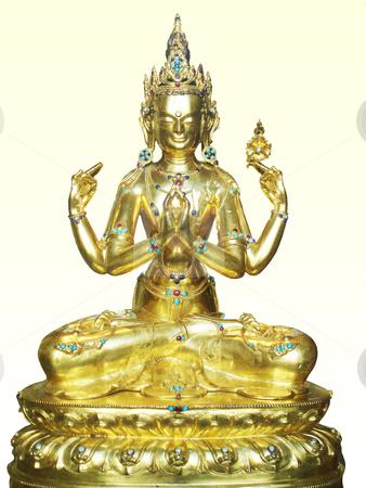 Indian deity stock photo, shiva indian deity sitting in posture of lotus       by Stelian Ion