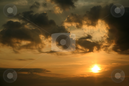 Magic Sunrise stock photo, beautiful sunrise - norway europe travel by Stelian Ion