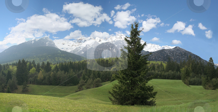 Mountains Landscape stock photo, Mountains Landscape - Italy by Stelian Ion