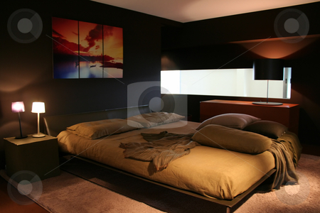 Beedroom decorating ideas stock photo, 5 star hotel bedroom vacation - decorating ideas to make your bedroom delightful by Stelian Ion