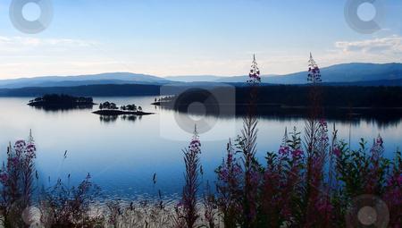Magic Sunrise stock photo, beautiful sunrise - norway europe travel by Stelian Ion
