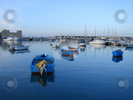City of Bari - Italy stock photo, city of Bari - Italy - famous for the San Nicola's church  by Stelian Ion