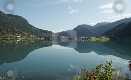 Norwegian Landscape stock photo, norwegian mountains landscape travel road by Stelian Ion