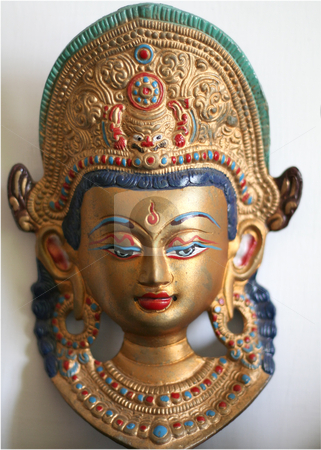 Indian deity stock photo, indian deity symbols - object of ancient art by Stelian Ion