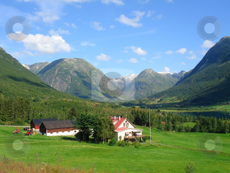 Mountains - natural beauty stock photo, the mountain  provide an intense experience of natural beauty by Stelian Ion