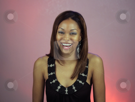 Beautiful Teen Girl Laughing stock photo, A lovely teenage girl laughing. by Carl Stewart