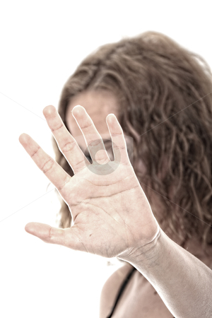 Abused stock photo, Abused young woman dramatic portrait by Piotr_Marcinski