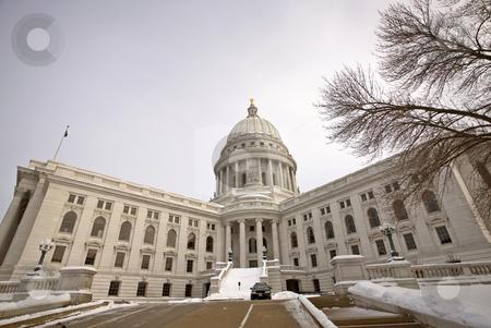 Wisconsin State Legislature stock photo, Wisconsin State Legislature by Mark Duffy