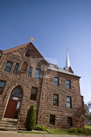 Church in Ashland Wisconsin stock photo, Church in Ashland Wisconsin Lake Superior Community by Mark Duffy