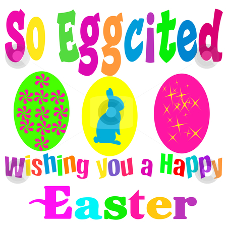 Happy Easter stock photo, great Easter graphic good for cards, wrapping paper,web sights by CHERYL LAFOND