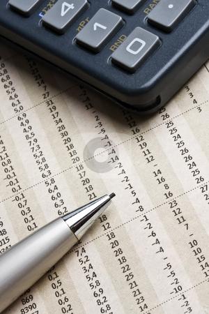 Analyzing the stock market  stock photo, Analyzing the stock market  by Ingvar Bjork