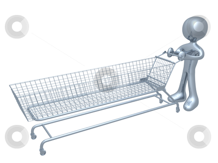 Extreme Shopping stock photo, Computer Generated Image - Extreme Shopping . by Konstantinos Kokkinis