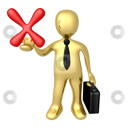 Bad Business Choice stock photo, Computer Generated Image - Bad Business Choice . by Konstantinos Kokkinis