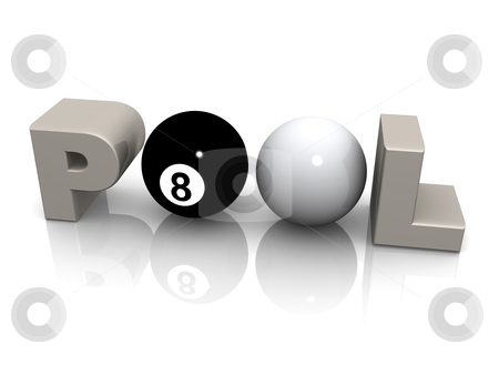 Pool stock photo, Computer Generated 3D Image - Pool . by Konstantinos Kokkinis