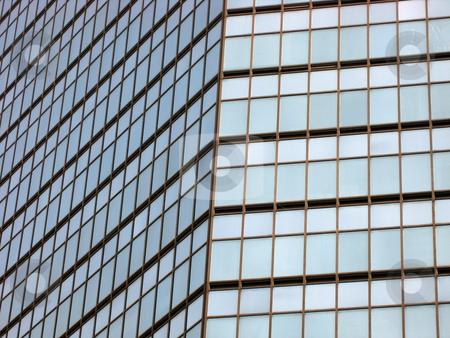 Skyscraper windows background  stock photo, skyscraper windows background in Hong Kong  by Ingvar Bjork