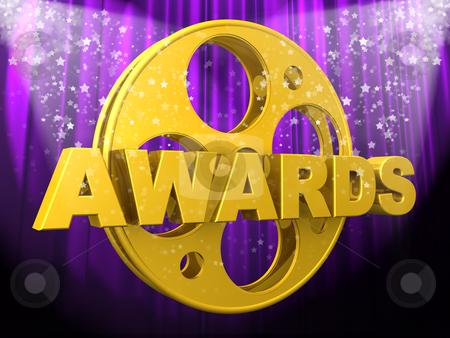 Movie Awards stock photo, Computer Generated Image - Movie Awards . by Konstantinos Kokkinis