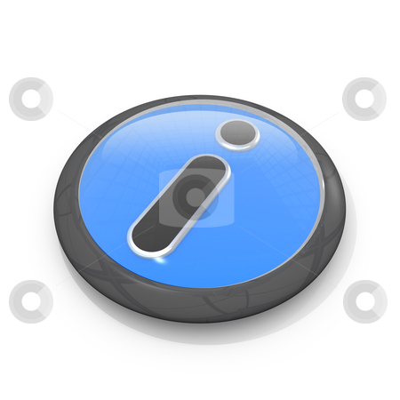 Information Symbol stock photo, Computer generated image - Infomation Symbol . by Konstantinos Kokkinis