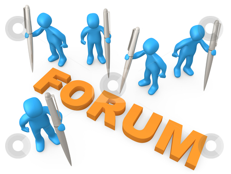 Forum stock photo, Computer generated 3d image - Forum . by Konstantinos Kokkinis