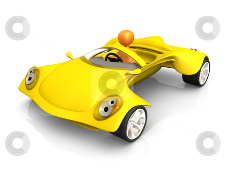 Concept Car stock photo, Computer generated image - Concept Car . by Konstantinos Kokkinis