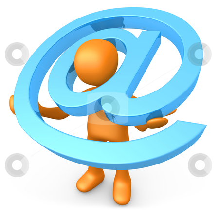 Email stock photo, Computer generated 3d image - Email . by Konstantinos Kokkinis