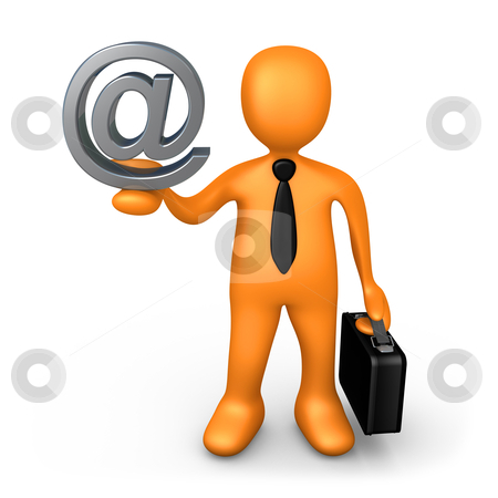 Business Contact stock photo, Computer Generated Image - Business Contact . by Konstantinos Kokkinis