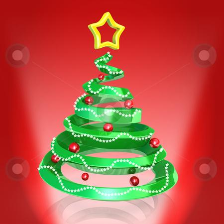 Christmas Tree stock photo, Computer Generated Image - Christmas Tree . by Konstantinos Kokkinis