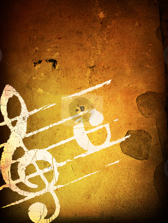 Grunge melody textures  stock photo, Abstract grunge melody textures and backgrounds with space by ilolab