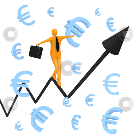 Account Balance stock photo, Computer generated image - Account Balance by Konstantinos Kokkinis
