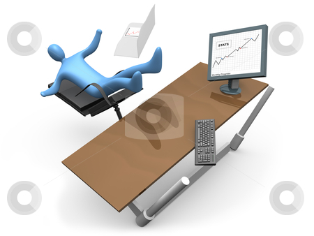 Mistake In Business stock photo, Computer generated image - Mistake In Business. by Konstantinos Kokkinis