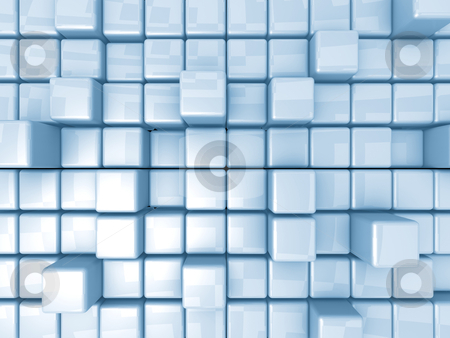Abstract Background - Cubes stock photo, Computer Generated Images - Abstract Background - Cubes. by Konstantinos Kokkinis