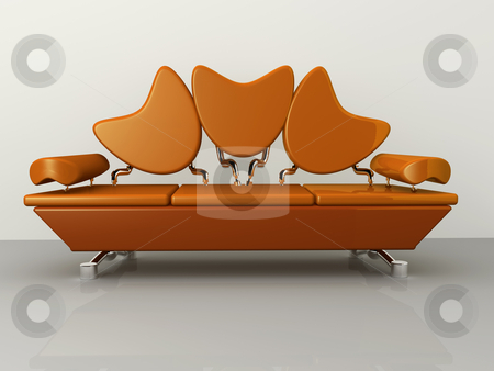 Concept Sofa stock photo, Computer generated image - Concept Sofa . by Konstantinos Kokkinis