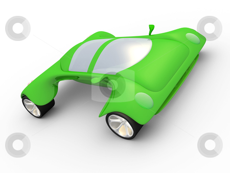 Concept Car stock photo, Computer generated image. Concept Car. by Konstantinos Kokkinis
