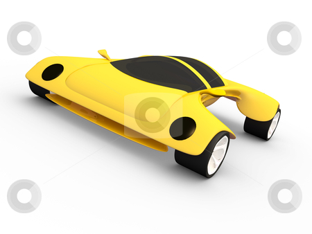 Concept Car stock photo, Computer generated image - Concept Car. by Konstantinos Kokkinis