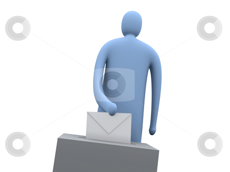 Voting stock photo, Computer generated image - Voting. by Konstantinos Kokkinis