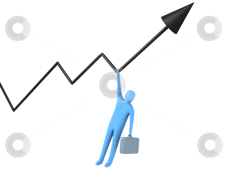 Risk For Success stock photo, Computer generated image - Risk For Success. by Konstantinos Kokkinis