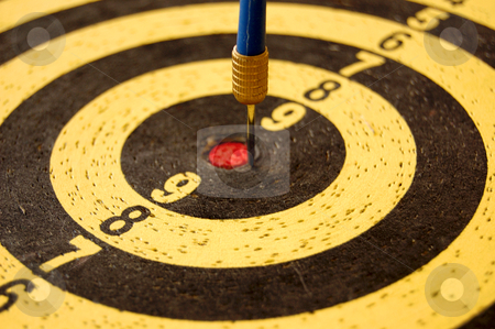 Darts background stock photo, Dartboard target and dart arrow. Abstract sports background. by sirylok